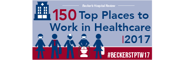 Beckers 150 top places to work 2017