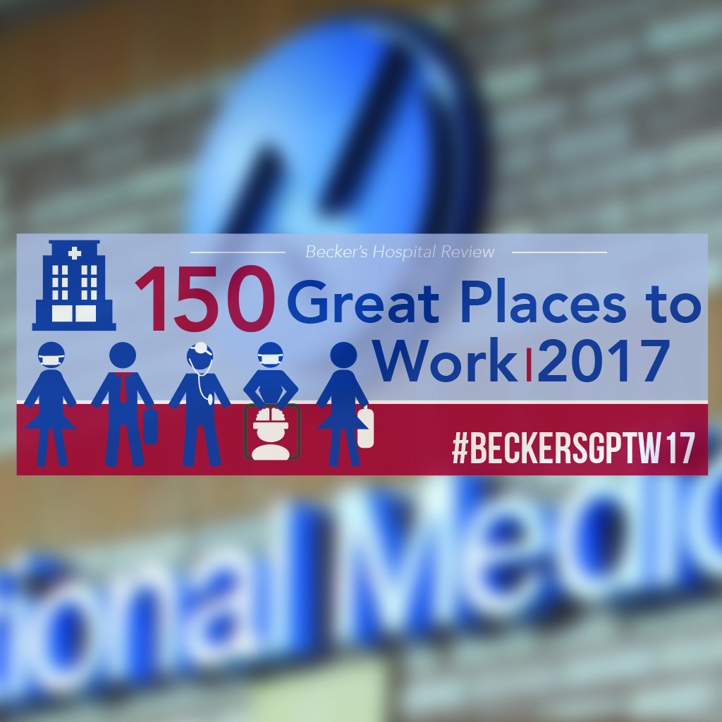National Medical Named to 150 Great Places to Work list